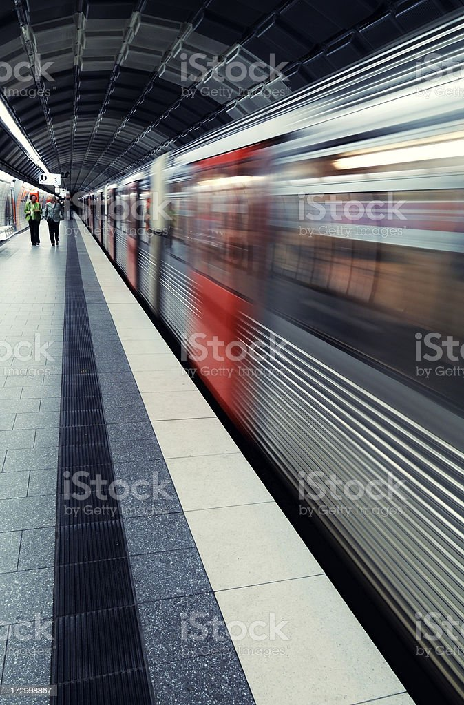 hamburg hauptbahnhof royalty-free stock photo