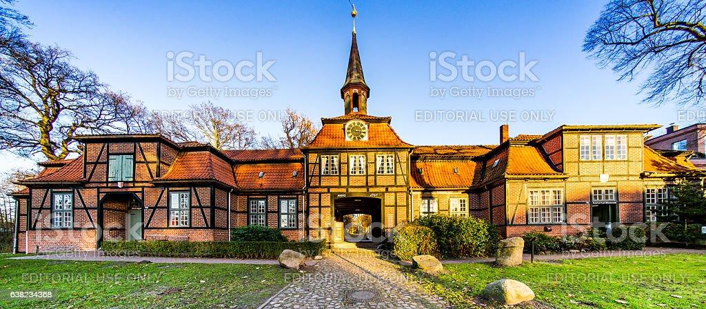 Hamburg Manor stock photo
