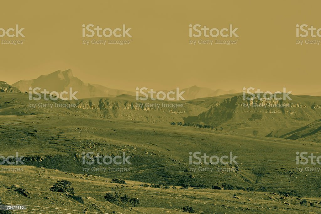 Hamburg Mountain Range stock photo