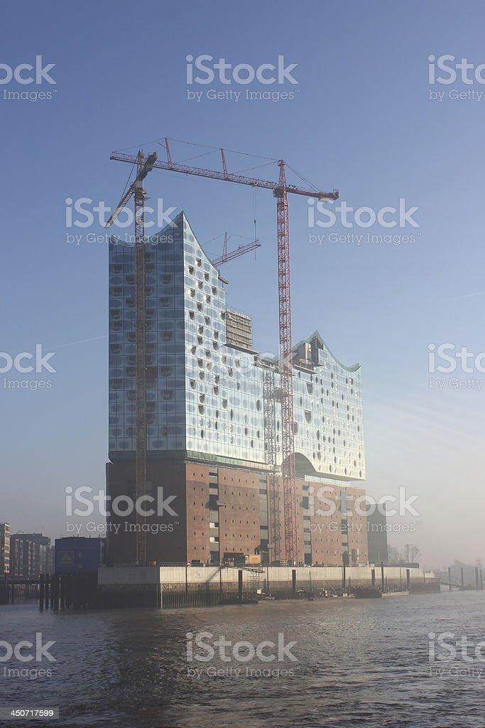 Hamburg philharmonics royalty-free stock photo