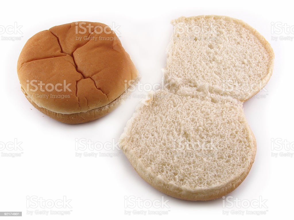 Hamburger Rolls stock photo