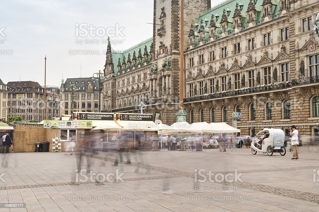 Hamburg - Stuttgart Wine Village royalty-free stock photo