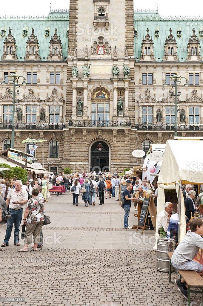 Hamburg - Stuttgart Wine Village stock photo