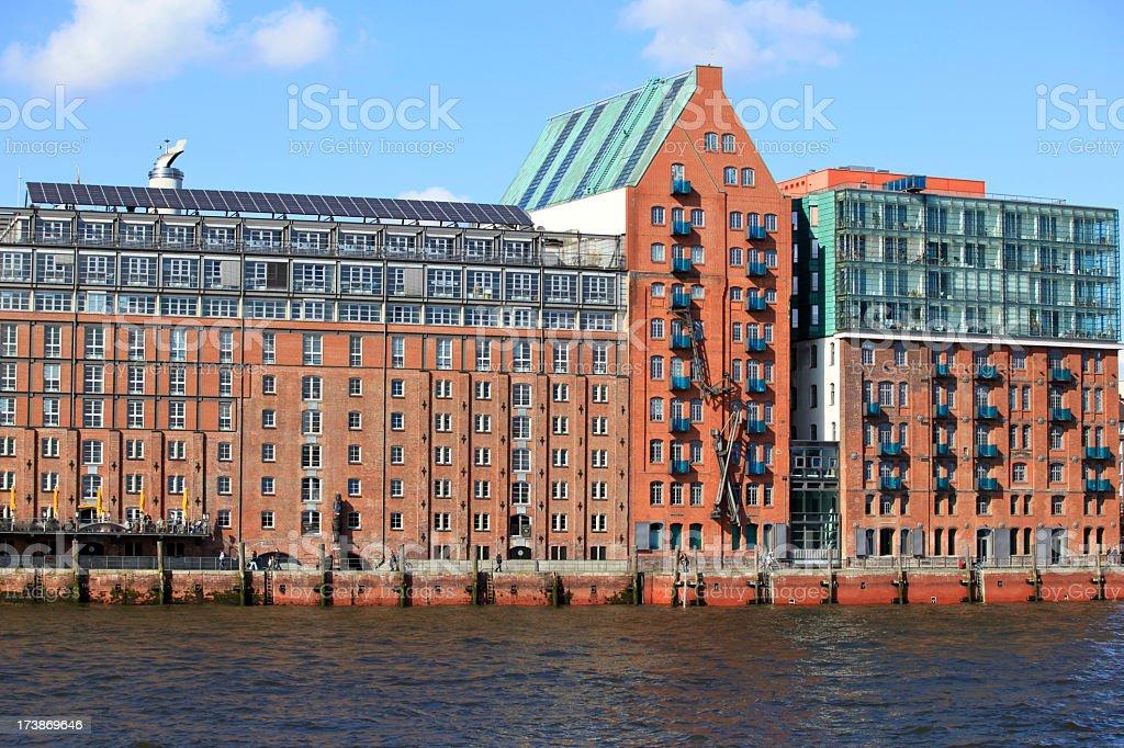 Hamburg - Tradition and Modernity stock photo
