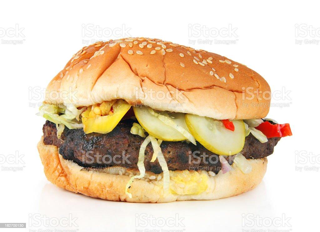 Hamburger 1.1 royalty-free stock photo