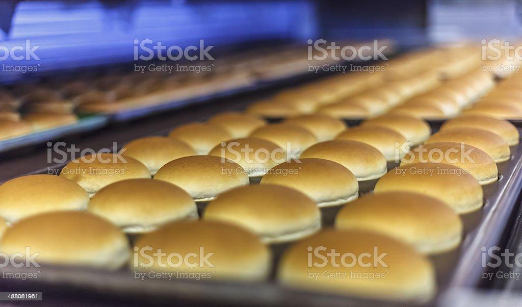 Hamburger breads stock photo