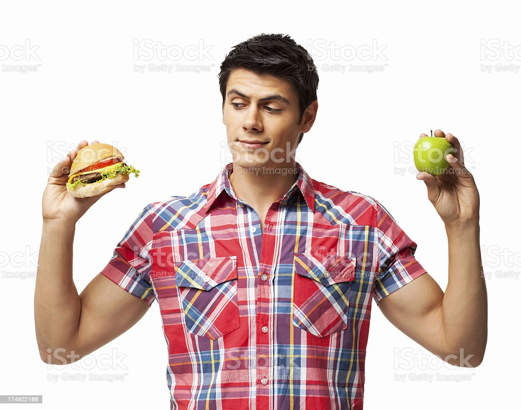 Hamburger May Be Delicious - Isolated royalty-free stock photo
