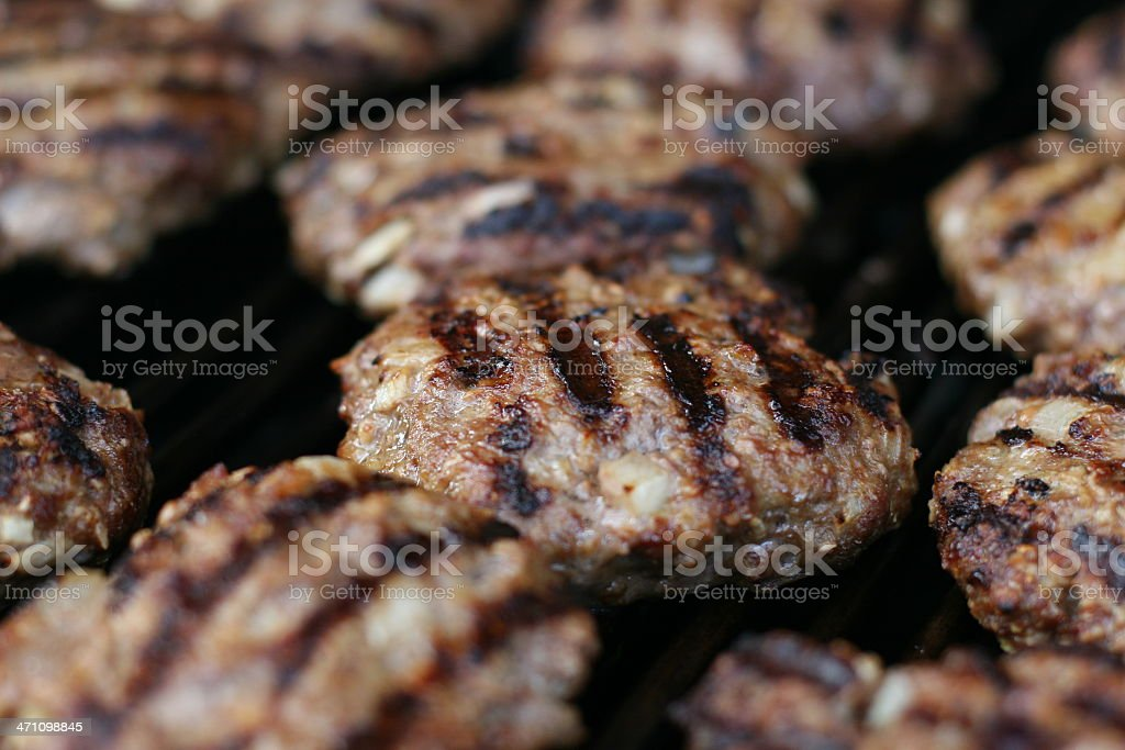 Hamburger Meat royalty-free stock photo