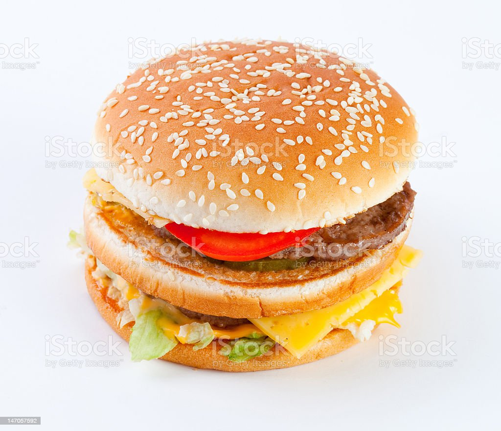 hamburger royalty-free stock photo