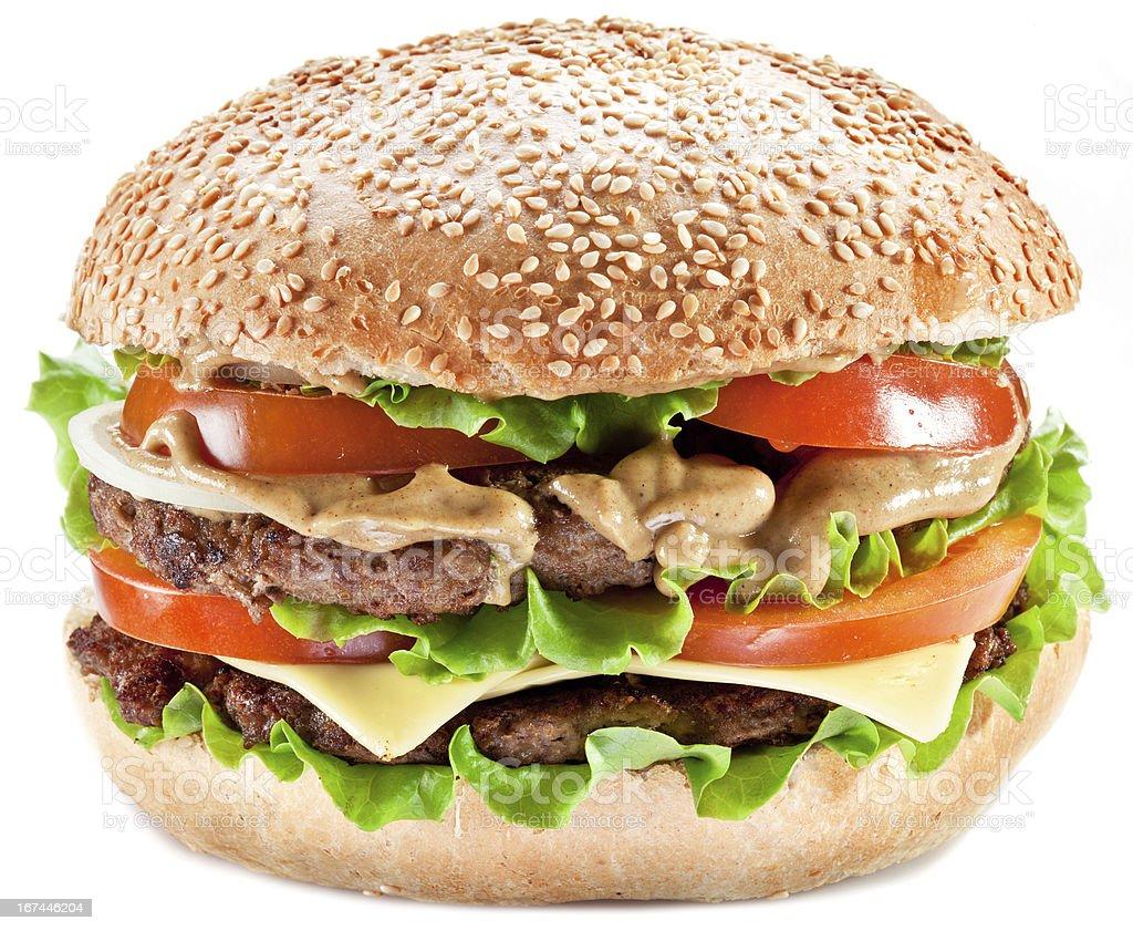 Hamburger. royalty-free stock photo