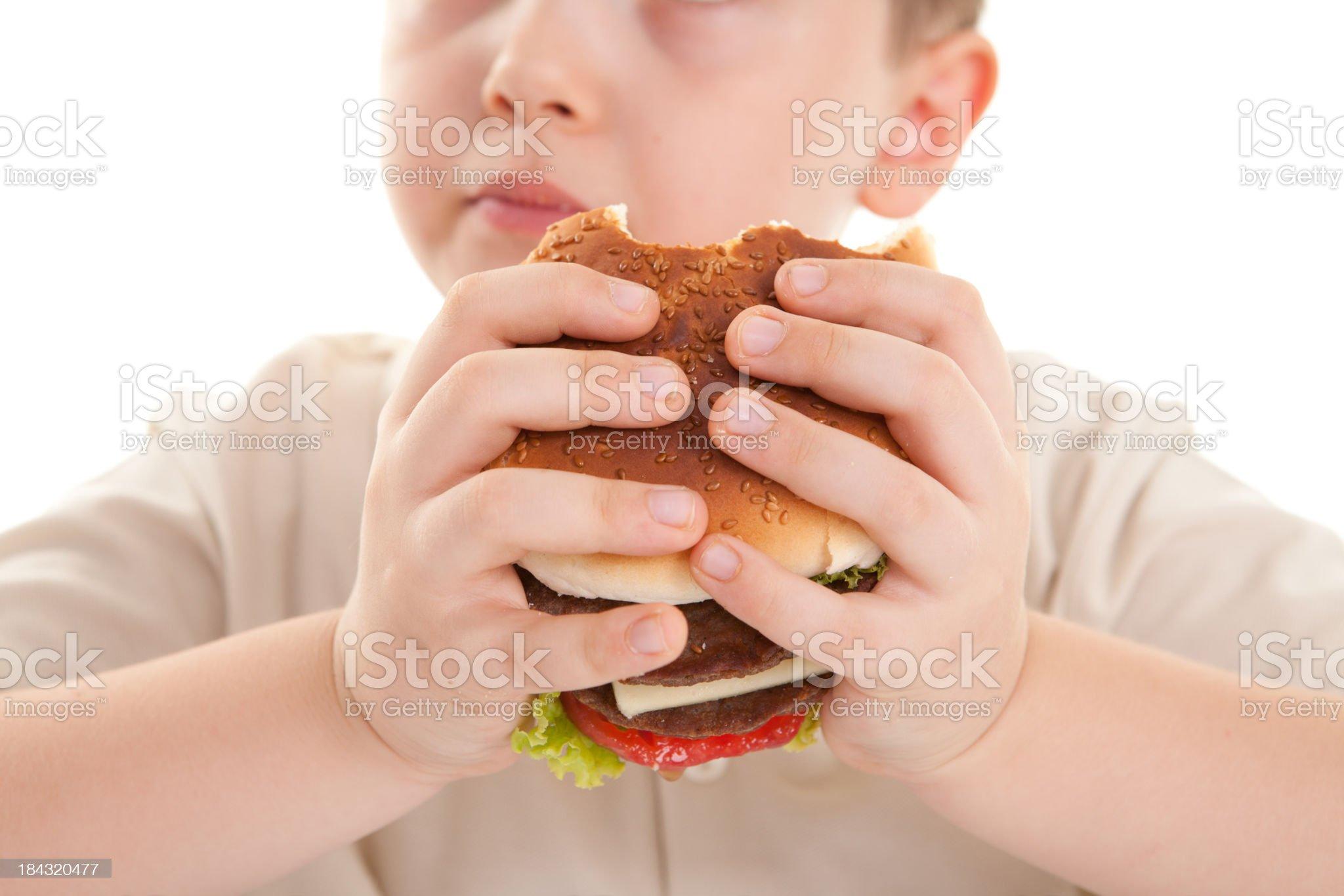 Hamburger royalty-free stock photo