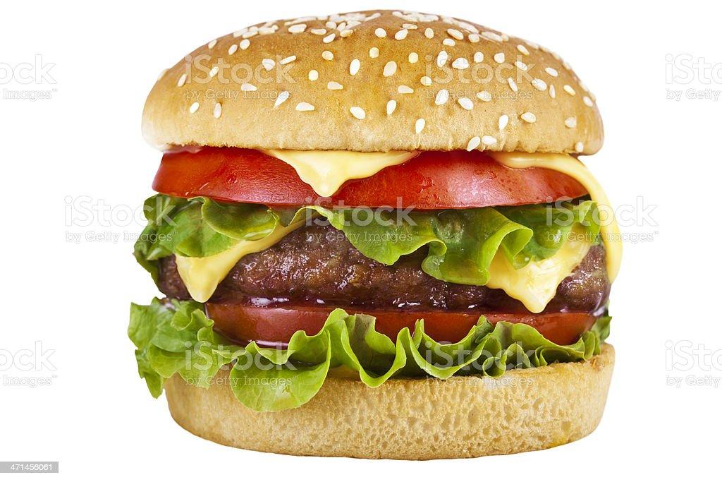 Hamburger stock photo