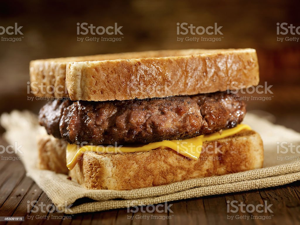 Hamburger Sandwich royalty-free stock photo