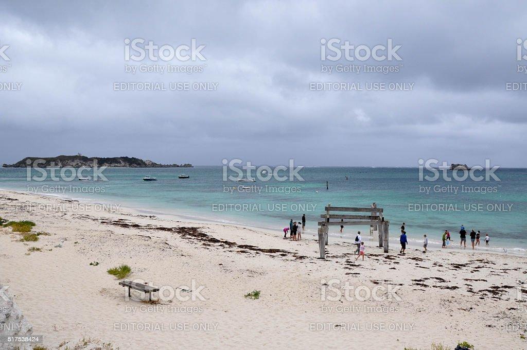 Hamelin Bay: Stormy Weather stock photo