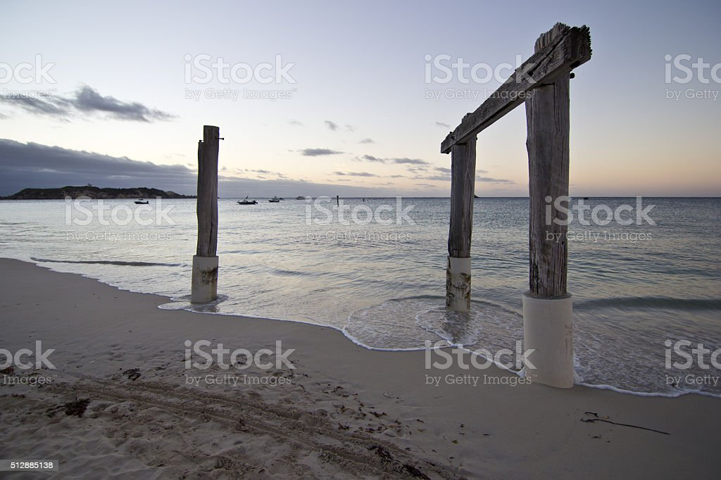 Hamelin Bay, Western Australia stock photo