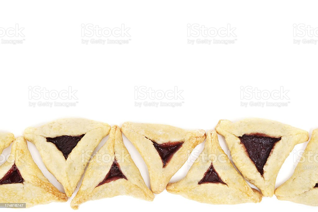 Hamentashen stock photo