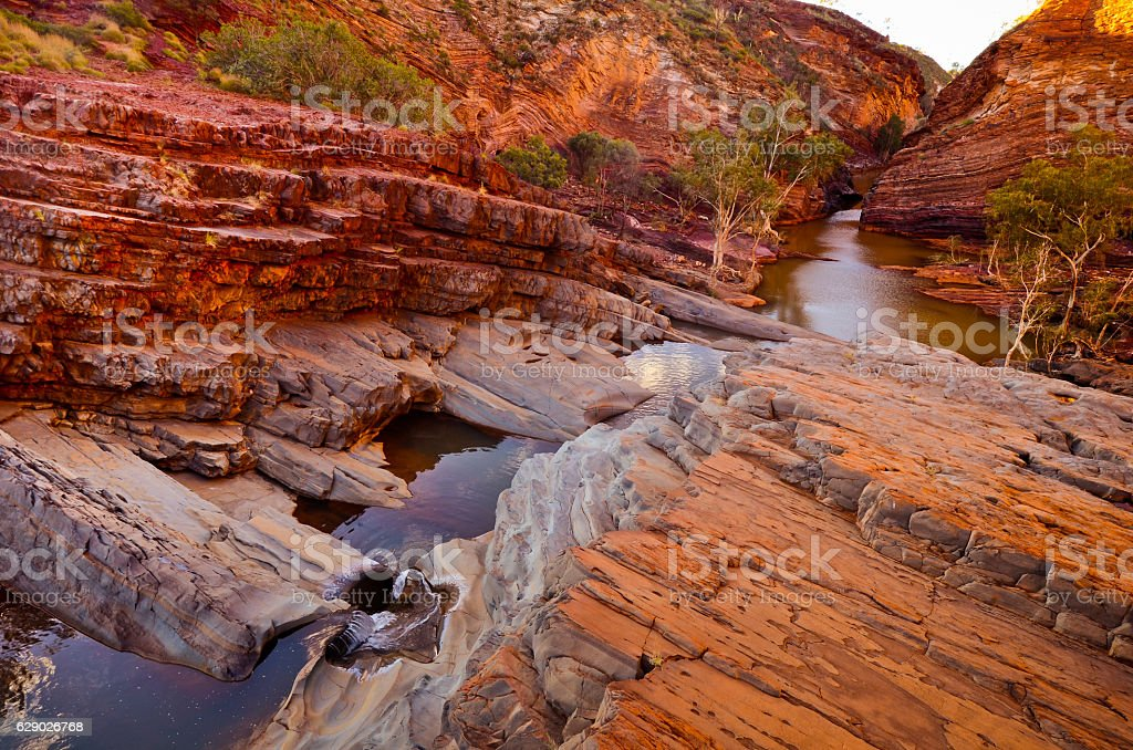 Hamersley Gorge, Karijini National Park stock photo
