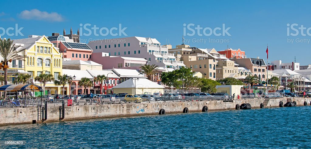 Hamilton, Bermuda stock photo