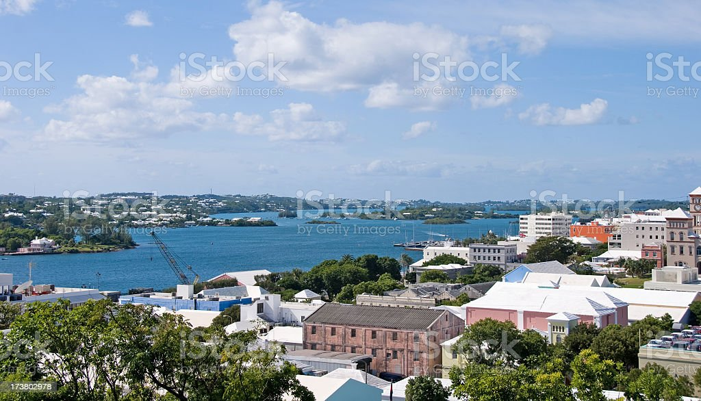 Hamilton from the Fort royalty-free stock photo