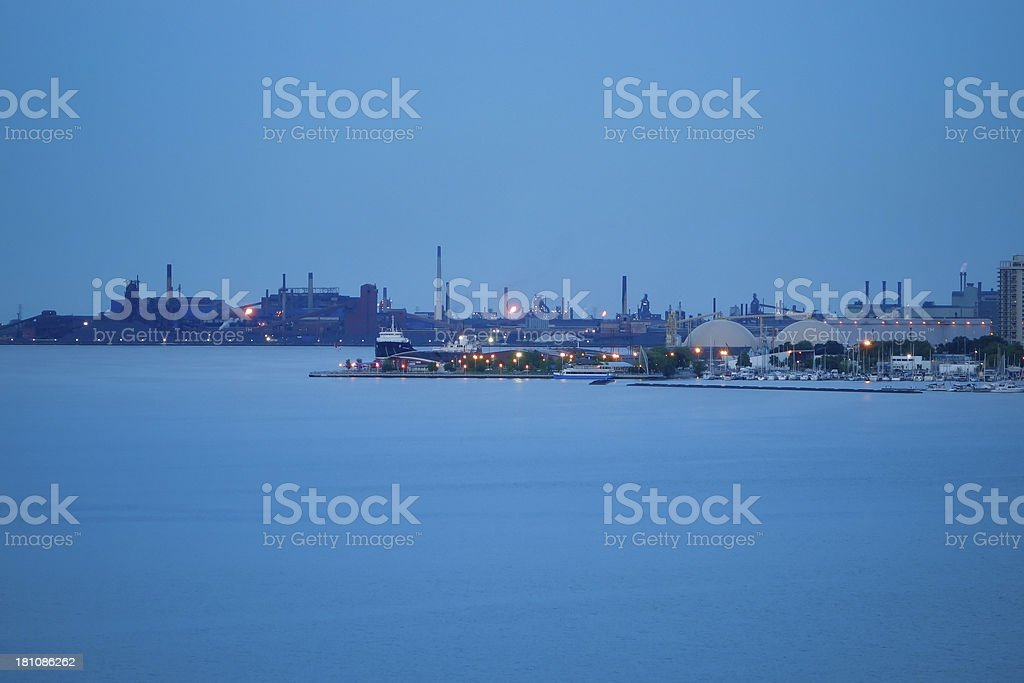 Hamilton Harbour, Ontario, Canada stock photo