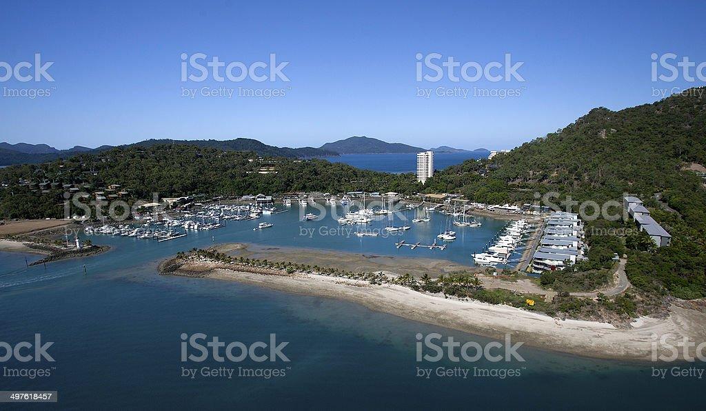 Hamilton Island, Queensland, Australia royalty-free stock photo