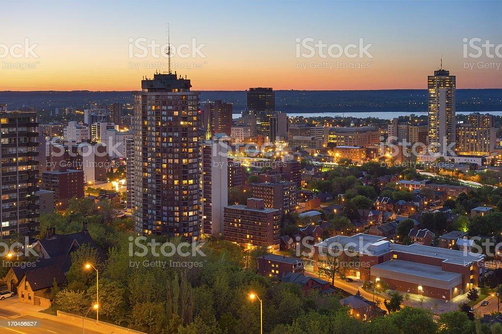 Hamilton, Ontario, Canada stock photo