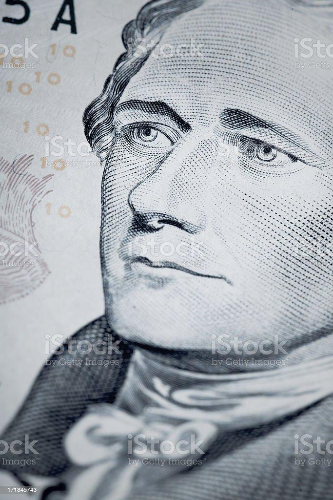 Hamilton stock photo