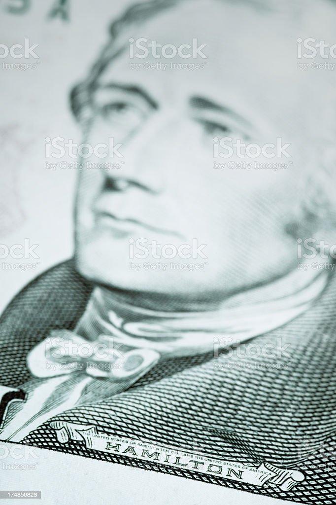 Hamilton royalty-free stock photo
