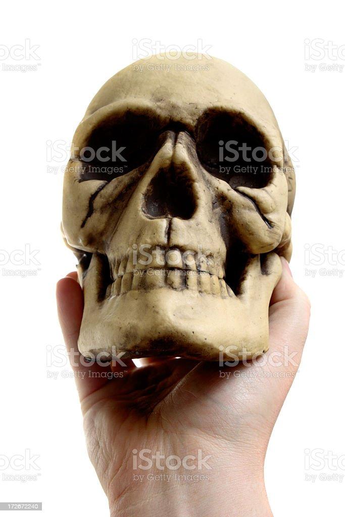 Hamlet & Yorick stock photo