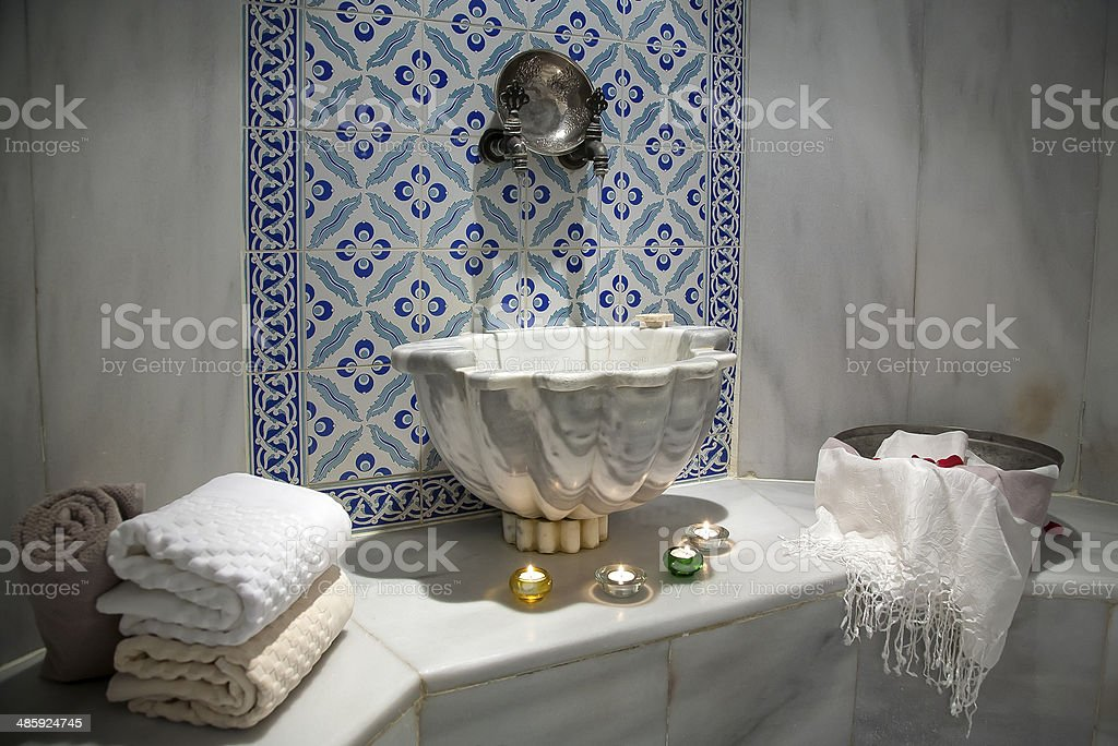 Hammam stock photo