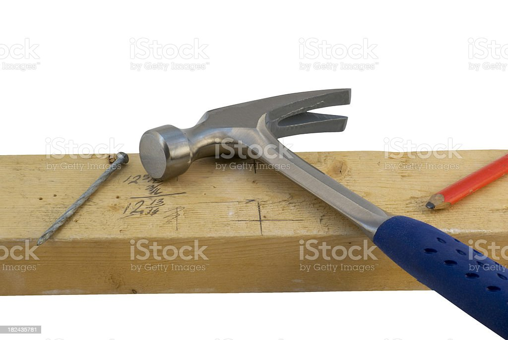 hammer - at rest stock photo