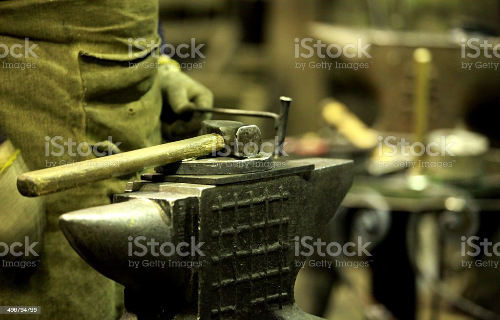Hammer stock photo