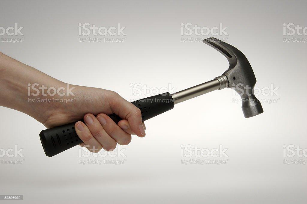 Hammer Lizenzfreies stock-foto
