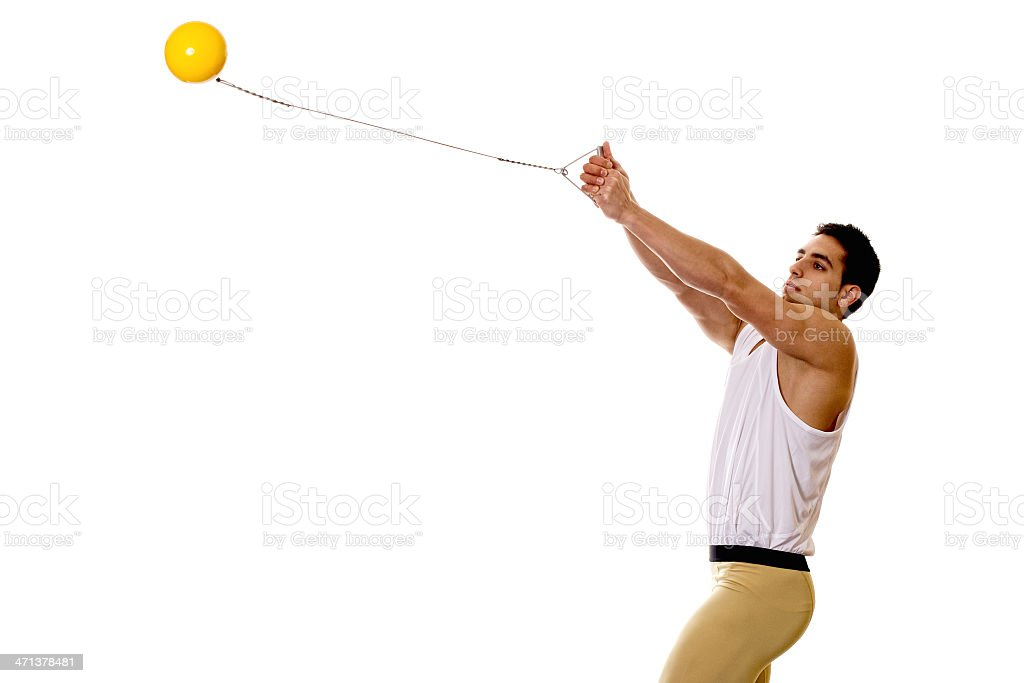Hammer Throw stock photo