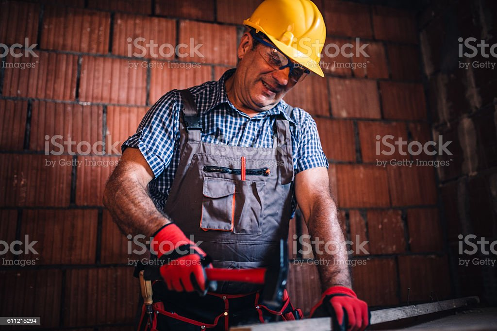Hammer time stock photo
