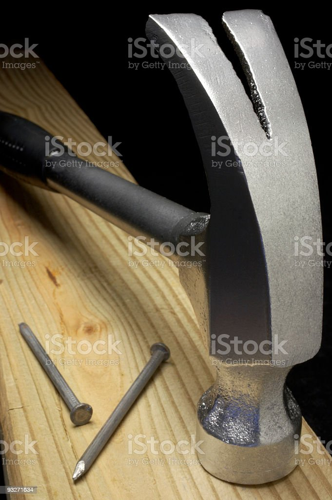 Hammer Time royalty-free stock photo