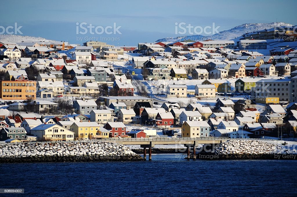 Hammerfest stock photo