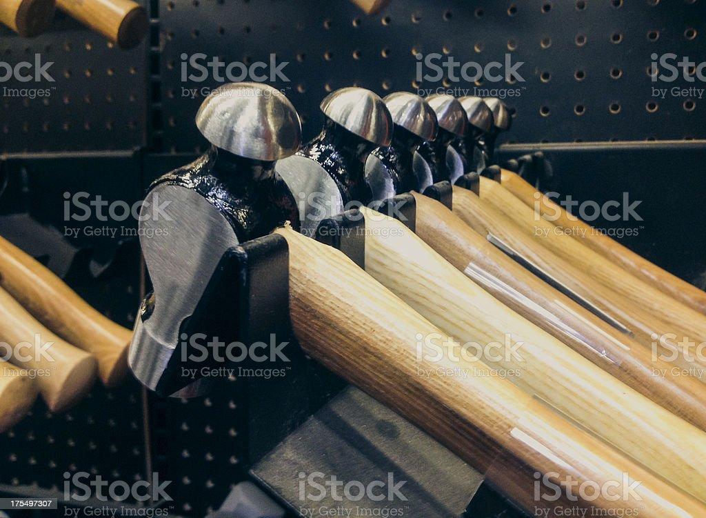 Hammers stock photo