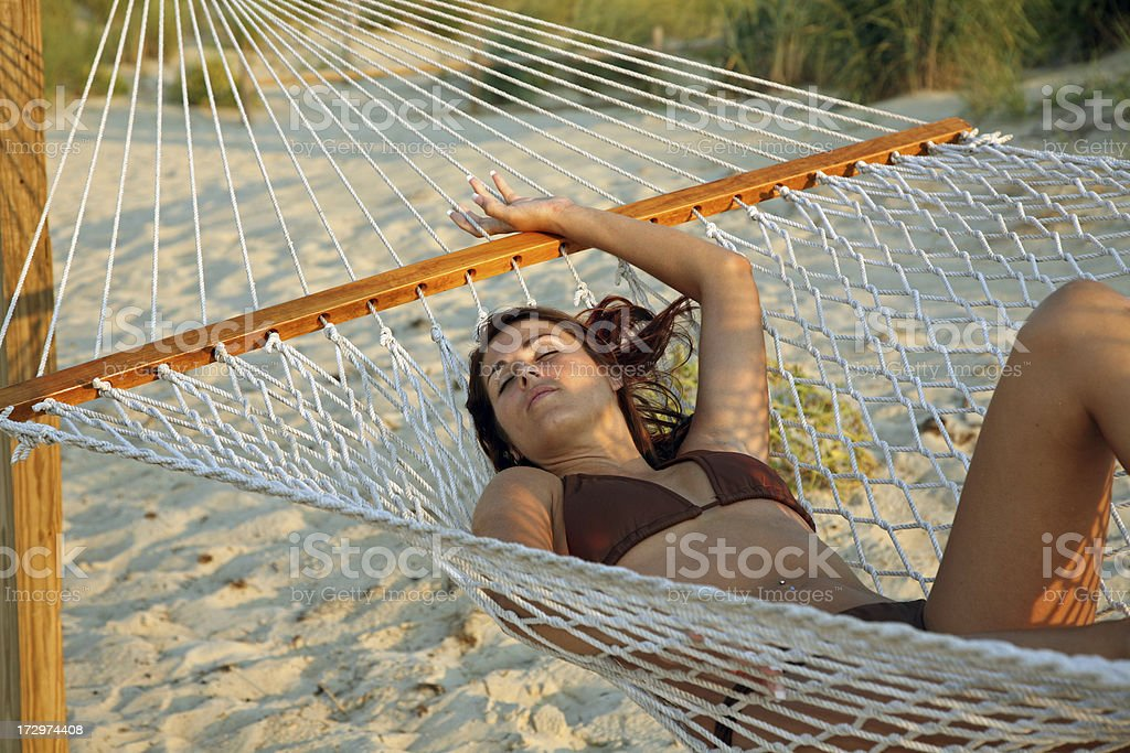 Hammock Relaxation royalty-free stock photo