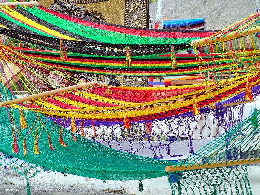 hammocks stock photo