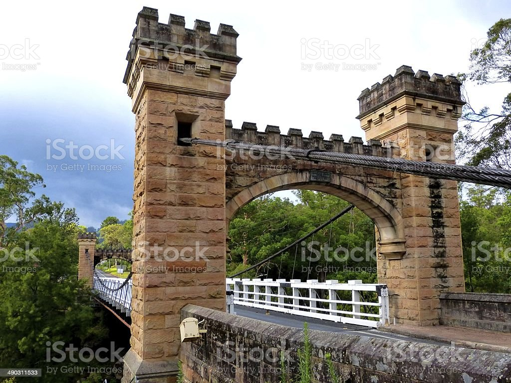 Hampden Bridge stock photo