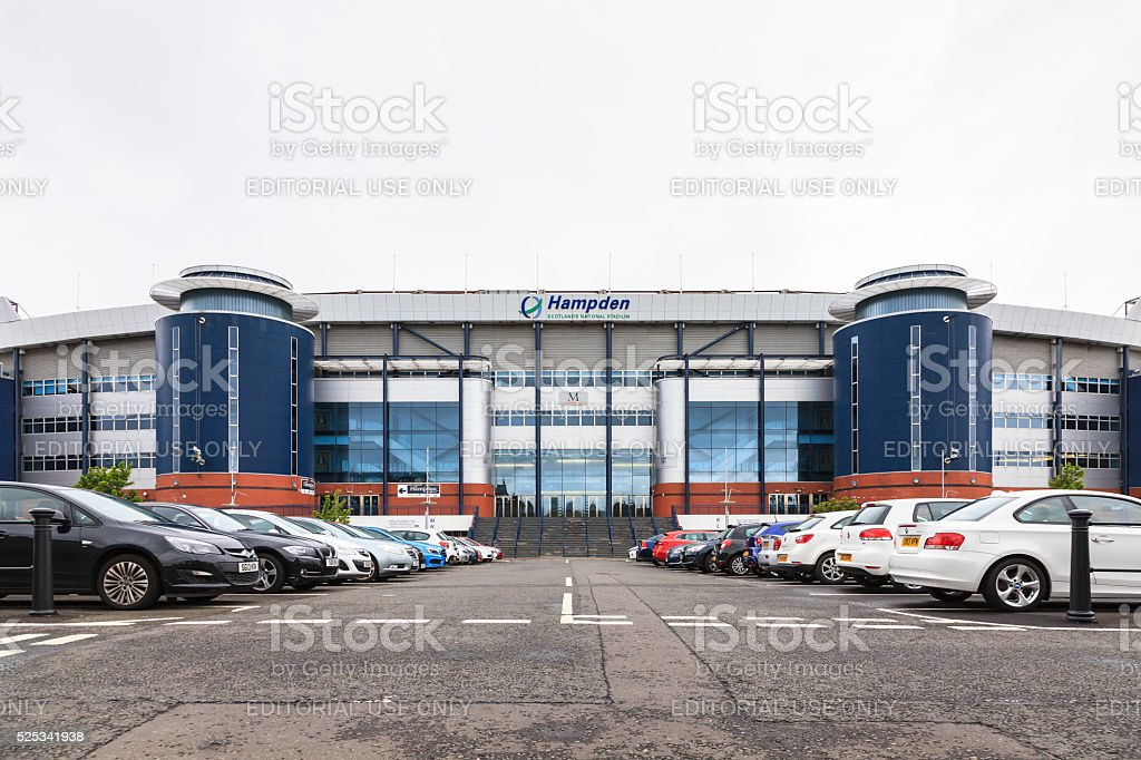 Hampden Park stock photo