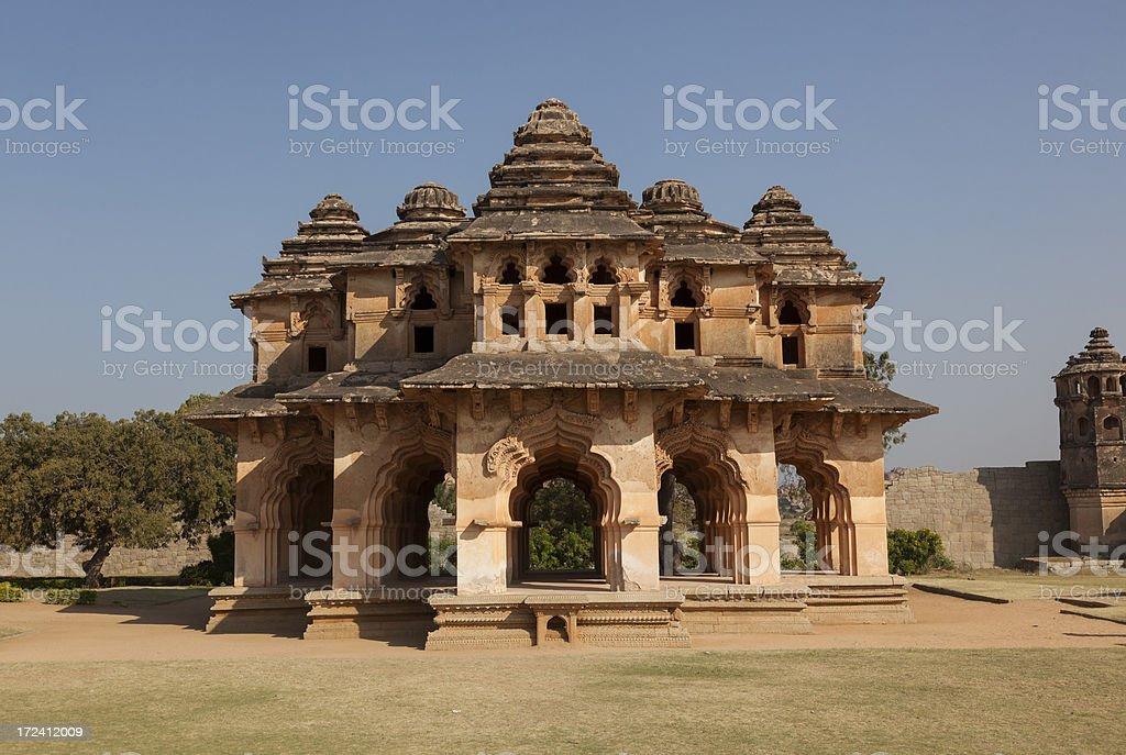 Hampi - Lotus Mahal stock photo