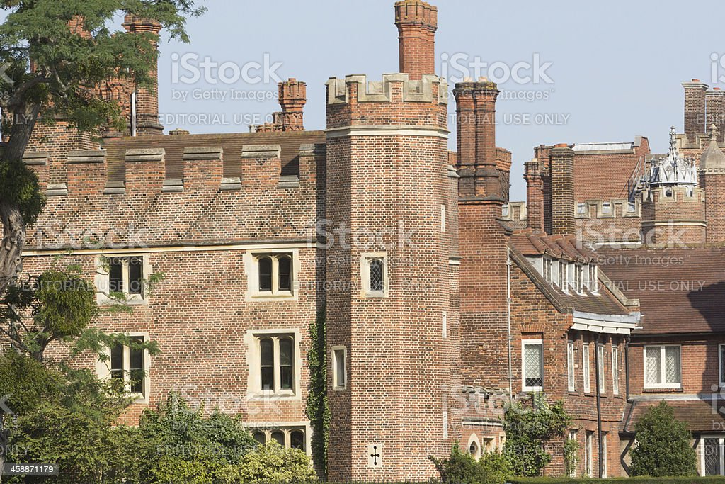 Hampton Court Palace in royalty-free stock photo