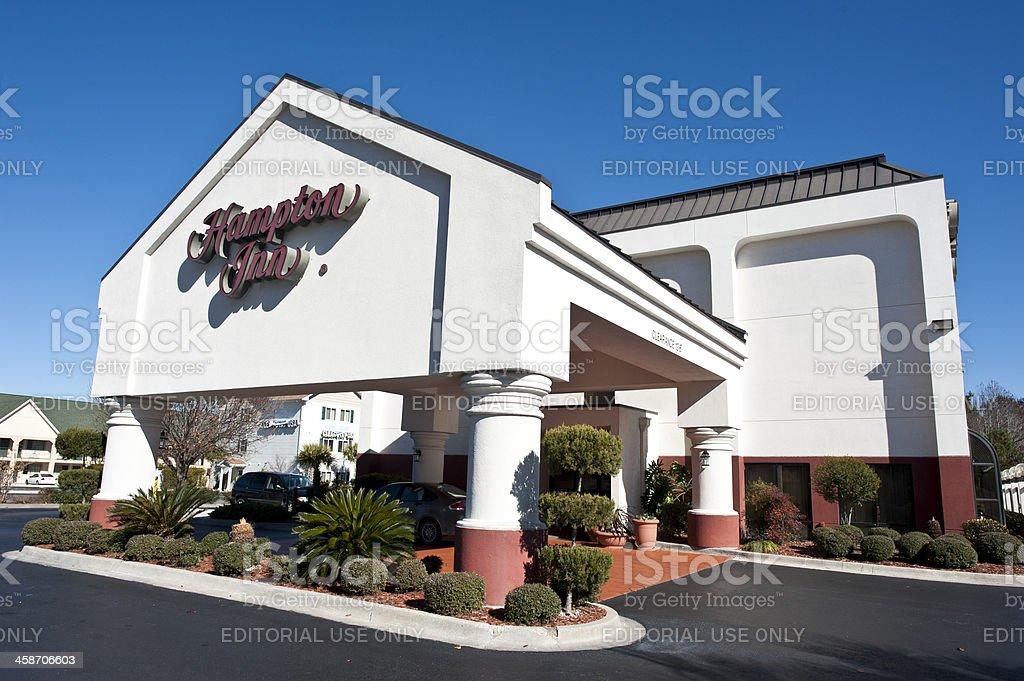 Hampton Inn at Darien, Georgia stock photo