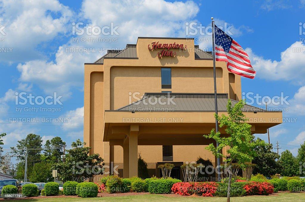 Hampton Inn stock photo