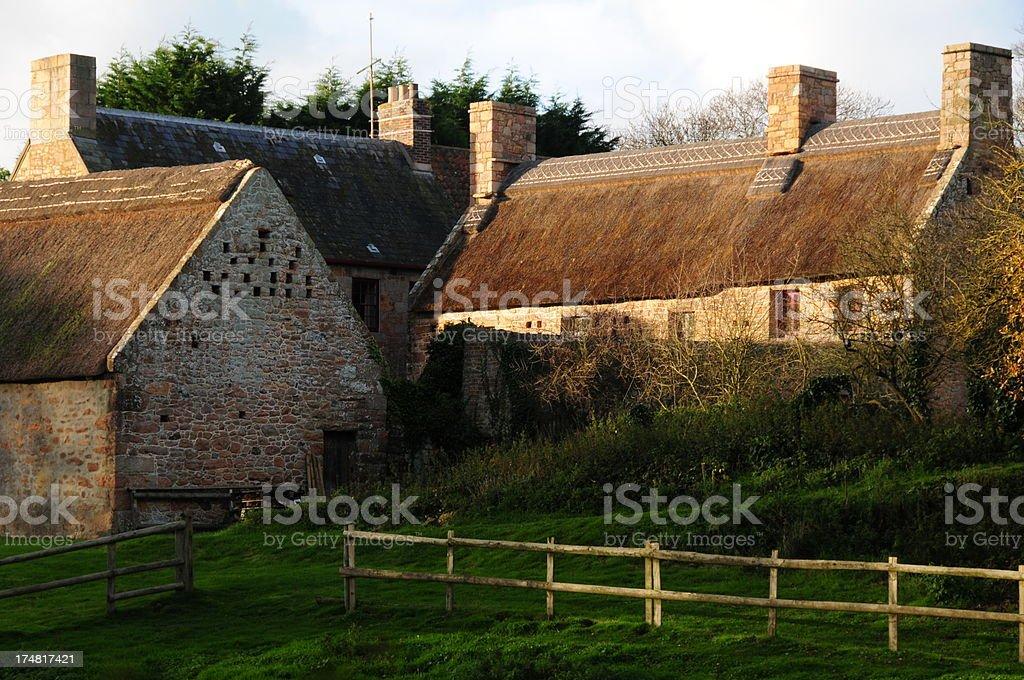 Hamptonne farm,Jersey. royalty-free stock photo