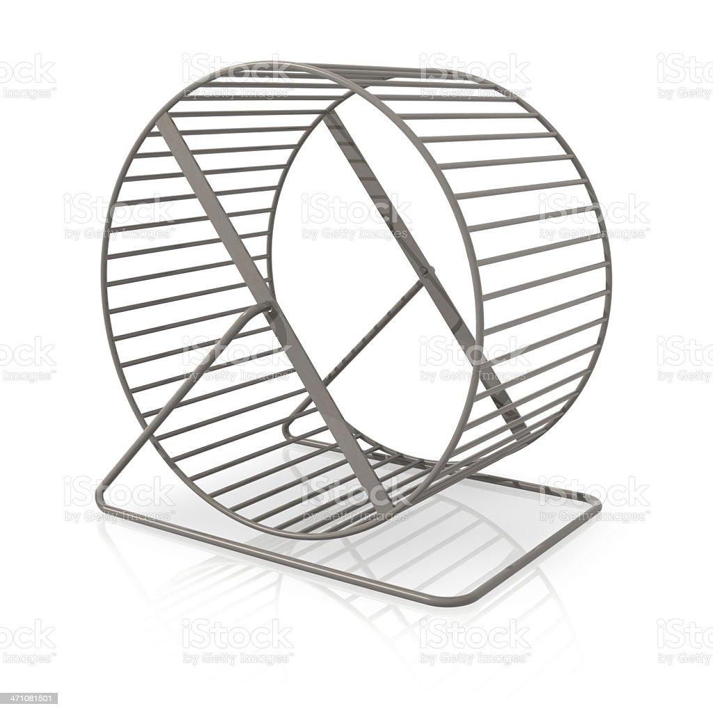 ハムスターリング型の車輪 ロイヤリティフリーストックフォト