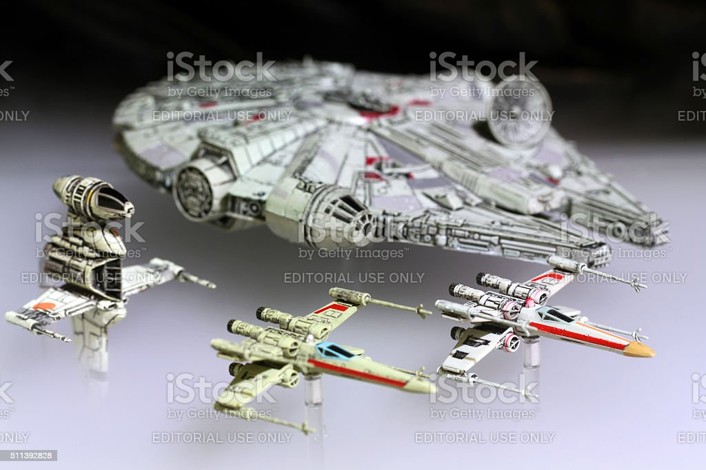 Han And Friends stock photo