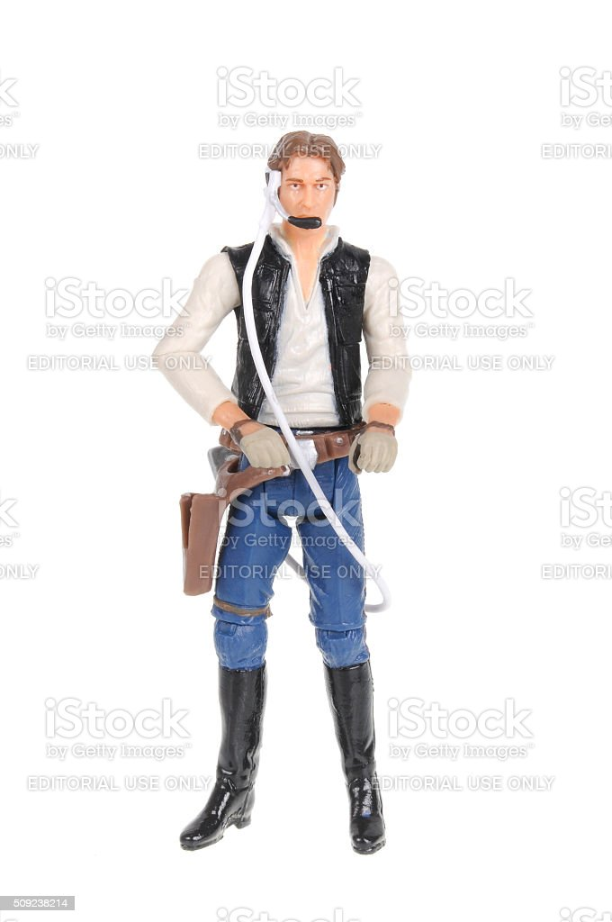 Han Solo Action Figure stock photo